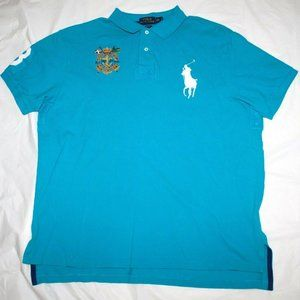 Polo By Ralph Lauren Mens Short Sleeve Big Pony Po